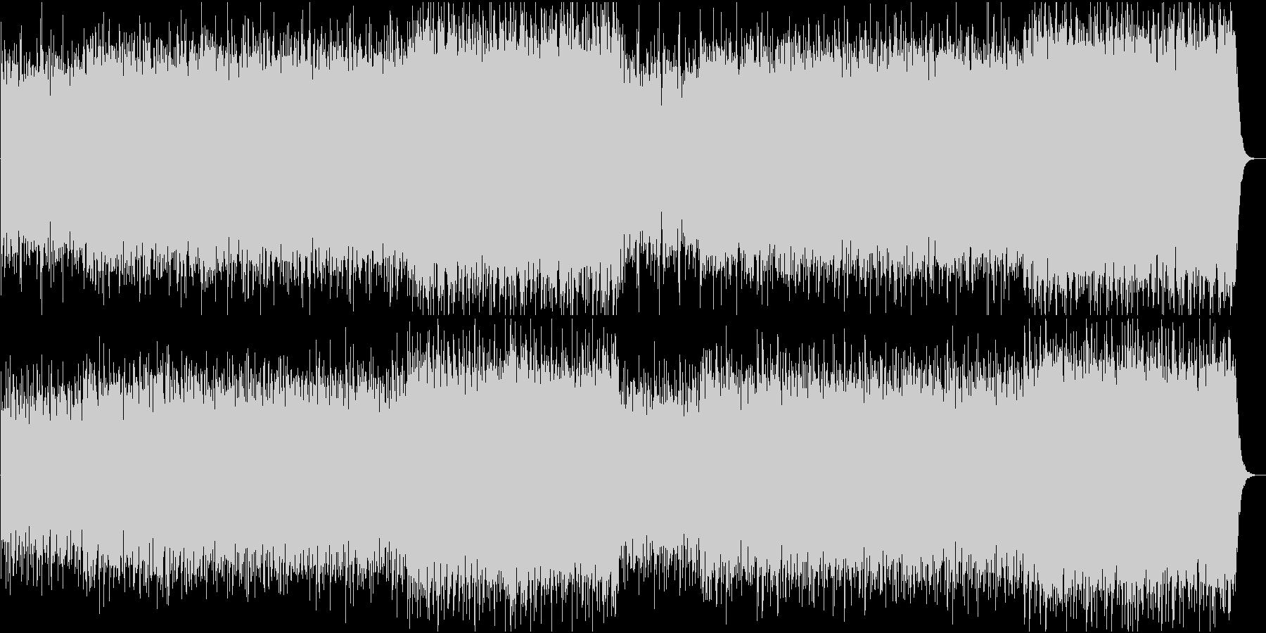 哀愁のあるメロディーをパンフルートで演奏の未再生の波形