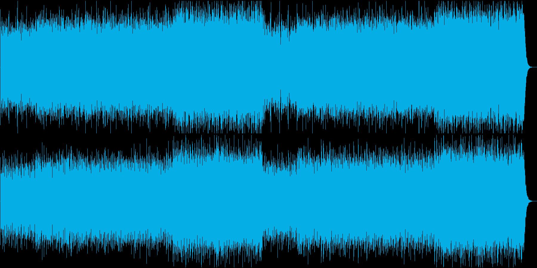 哀愁のあるメロディーをパンフルートで演奏の再生済みの波形