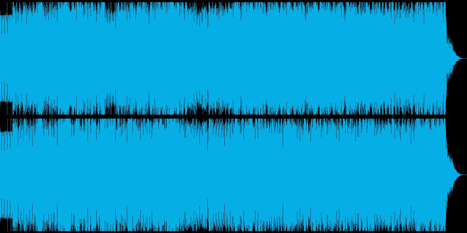 緊迫感のあるトライバルハウス BGMにの再生済みの波形