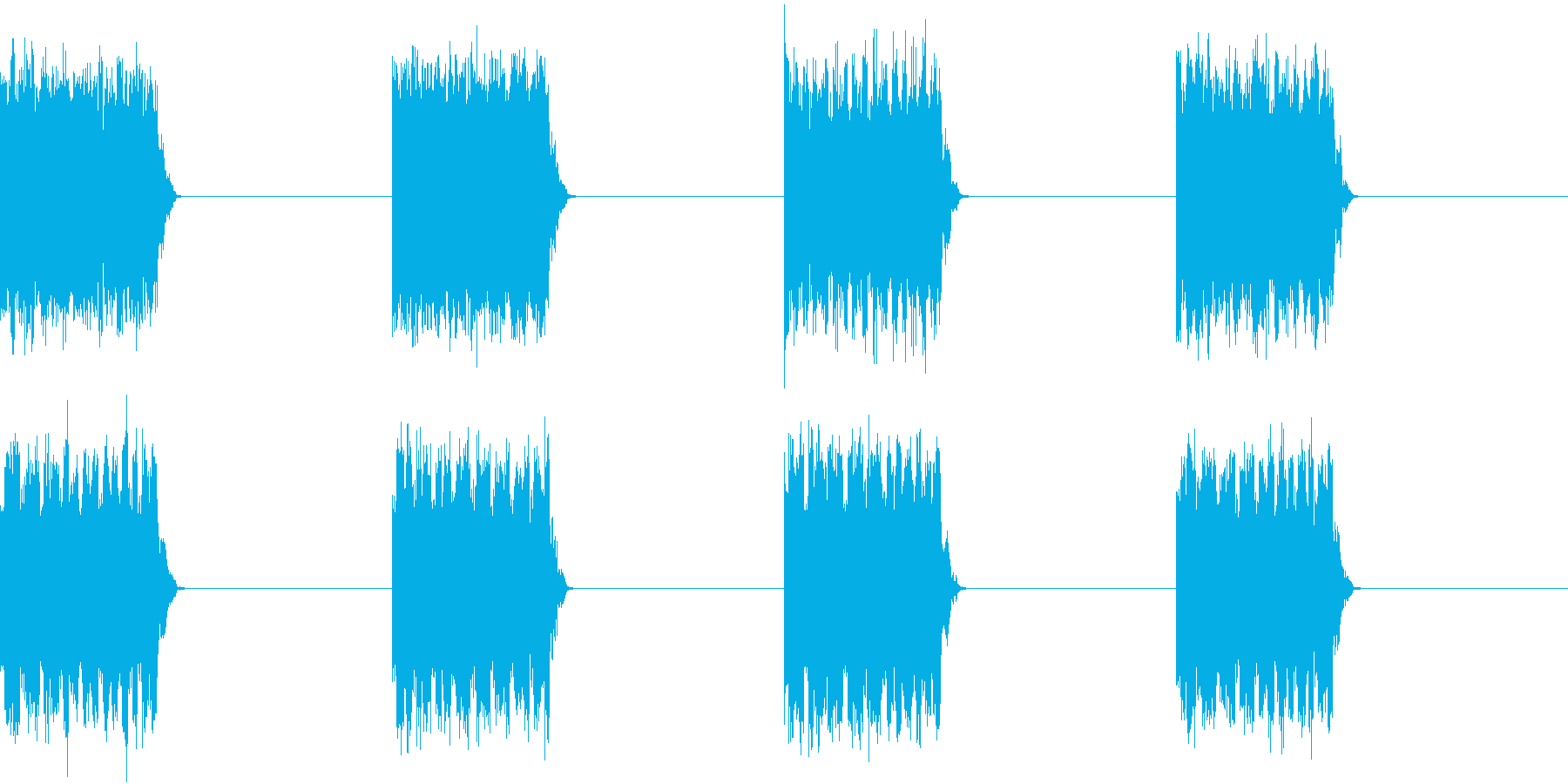 電話 呼び出し音 壊れた固定電話 ホラーの再生済みの波形