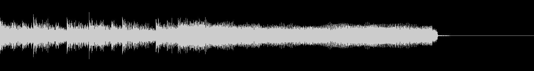 ヘビーなサウンドが特徴のメタルの未再生の波形