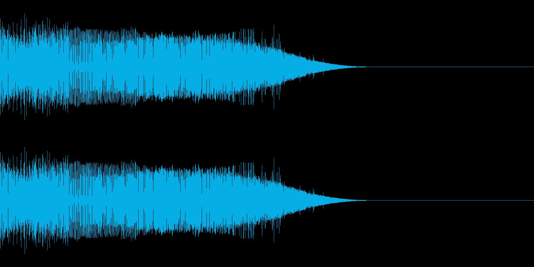 ギュイン(パワーアップ/エネルギー弾)の再生済みの波形
