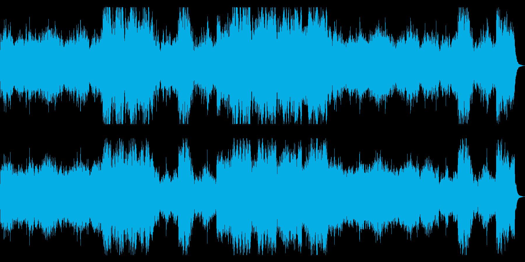ダークな宇宙、銀河 SF向けBGMの再生済みの波形