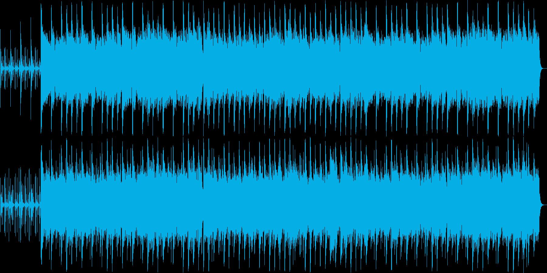 風情を感じさせる打楽器の和風バラードの再生済みの波形
