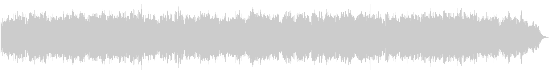 優しいシンセ音で、グノー作「アベマリア」の未再生の波形