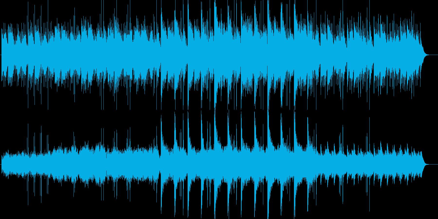 異国情緒ある穏やかで幻想的なBGMの再生済みの波形