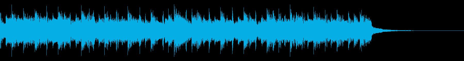 80'sなジングルの再生済みの波形