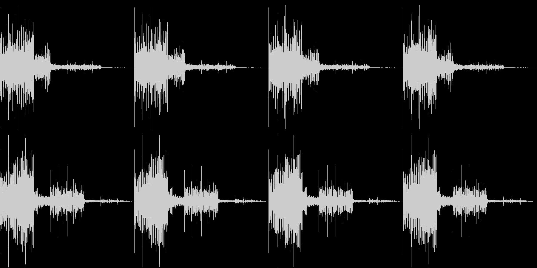 SFX 特殊部隊 登場シーン ループの未再生の波形