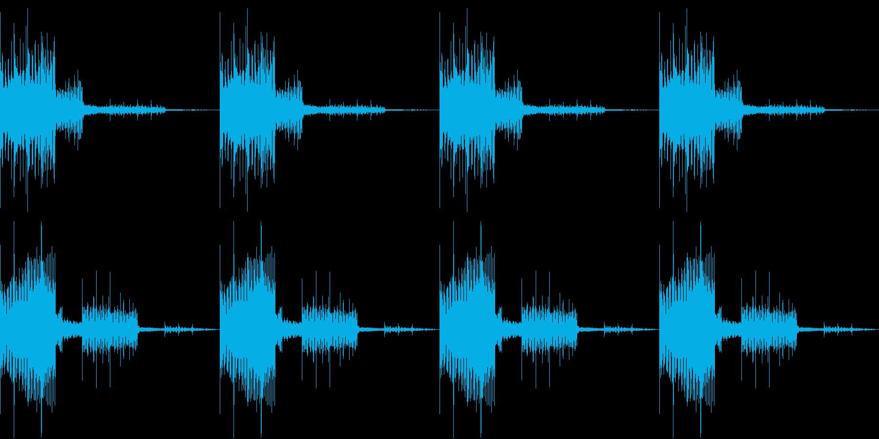 SFX 特殊部隊 登場シーン ループの再生済みの波形