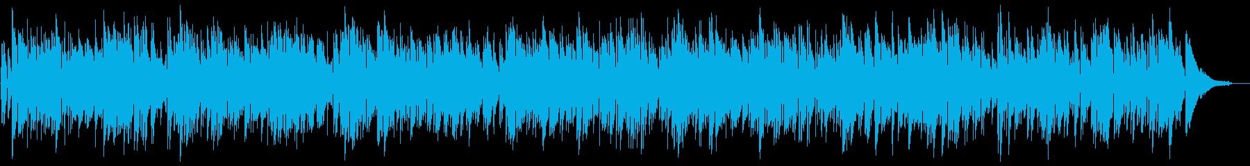 時間を忘れる南国のリラクゼーション音楽の再生済みの波形