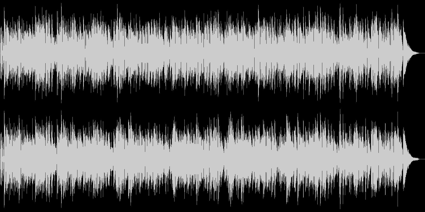 時間を忘れる南国のリラクゼーション音楽の未再生の波形