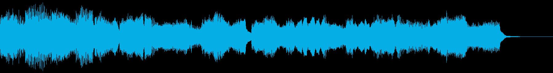 もろびとこぞりて~パイプオルガン~の再生済みの波形