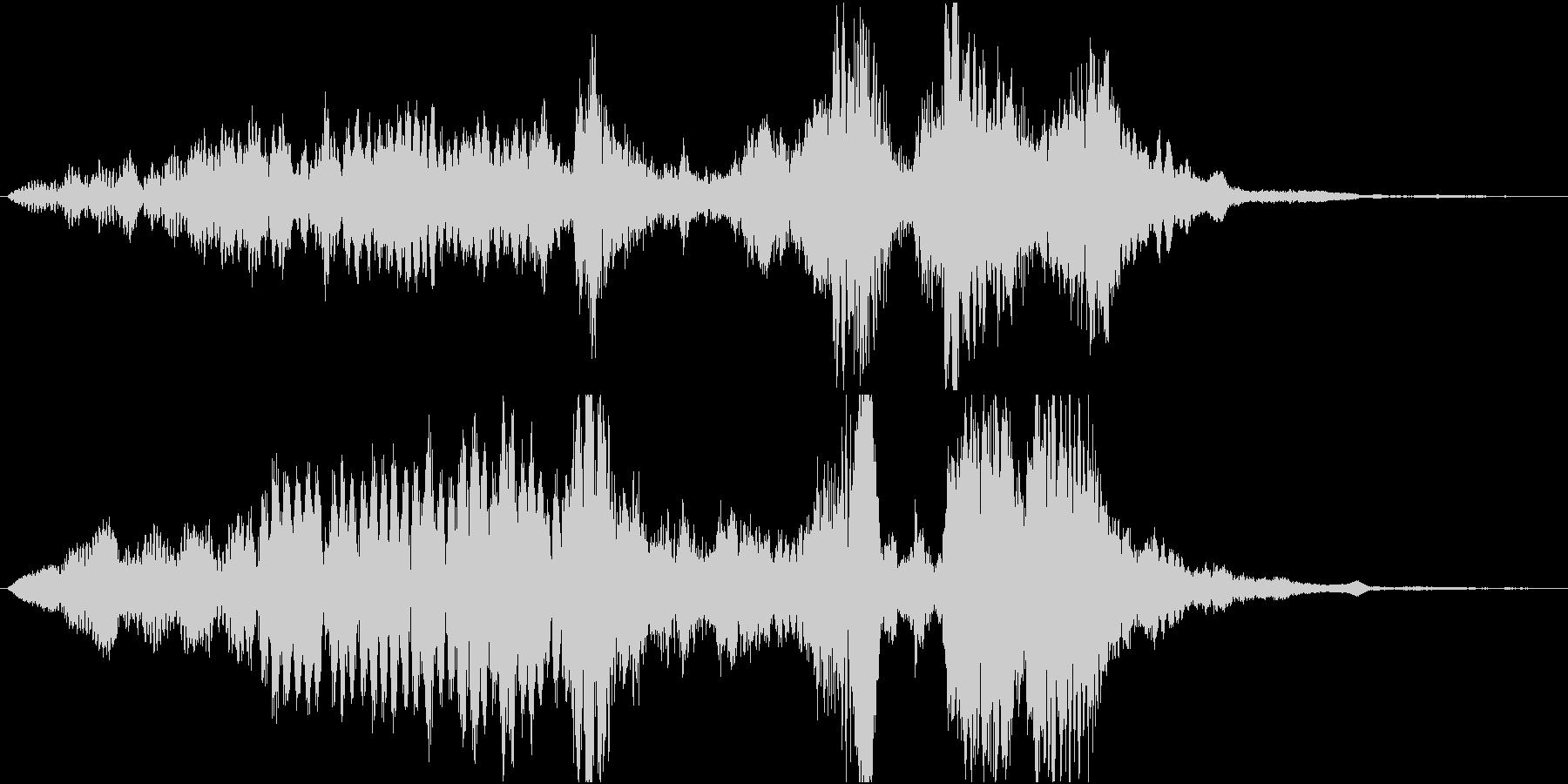 【SE 効果音】不気味な音8の未再生の波形