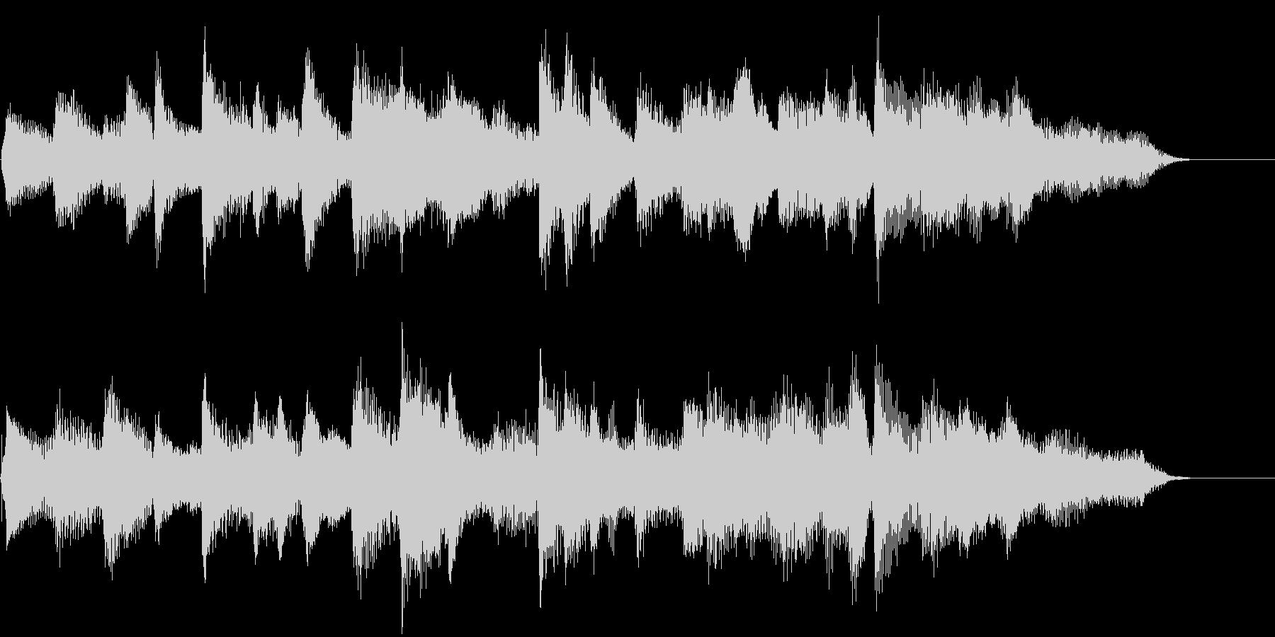 ピアノ、映像・CM・ジングル・ロゴ等にの未再生の波形