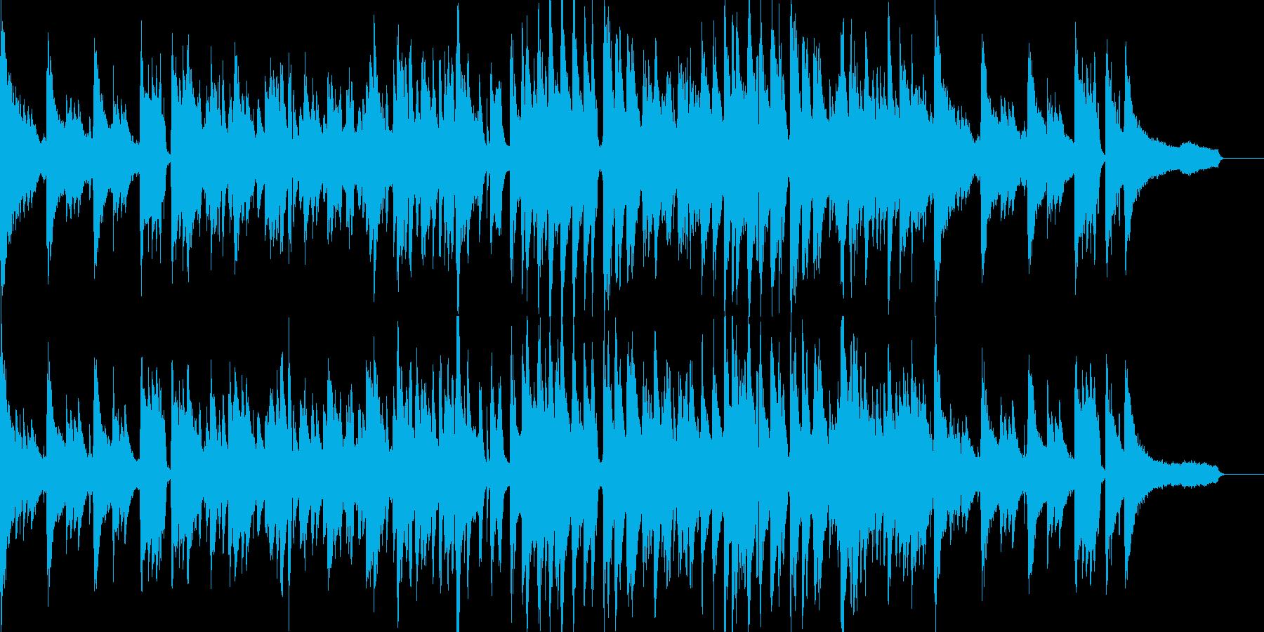 ピアノが印象的な前向きで大人なジャズの再生済みの波形