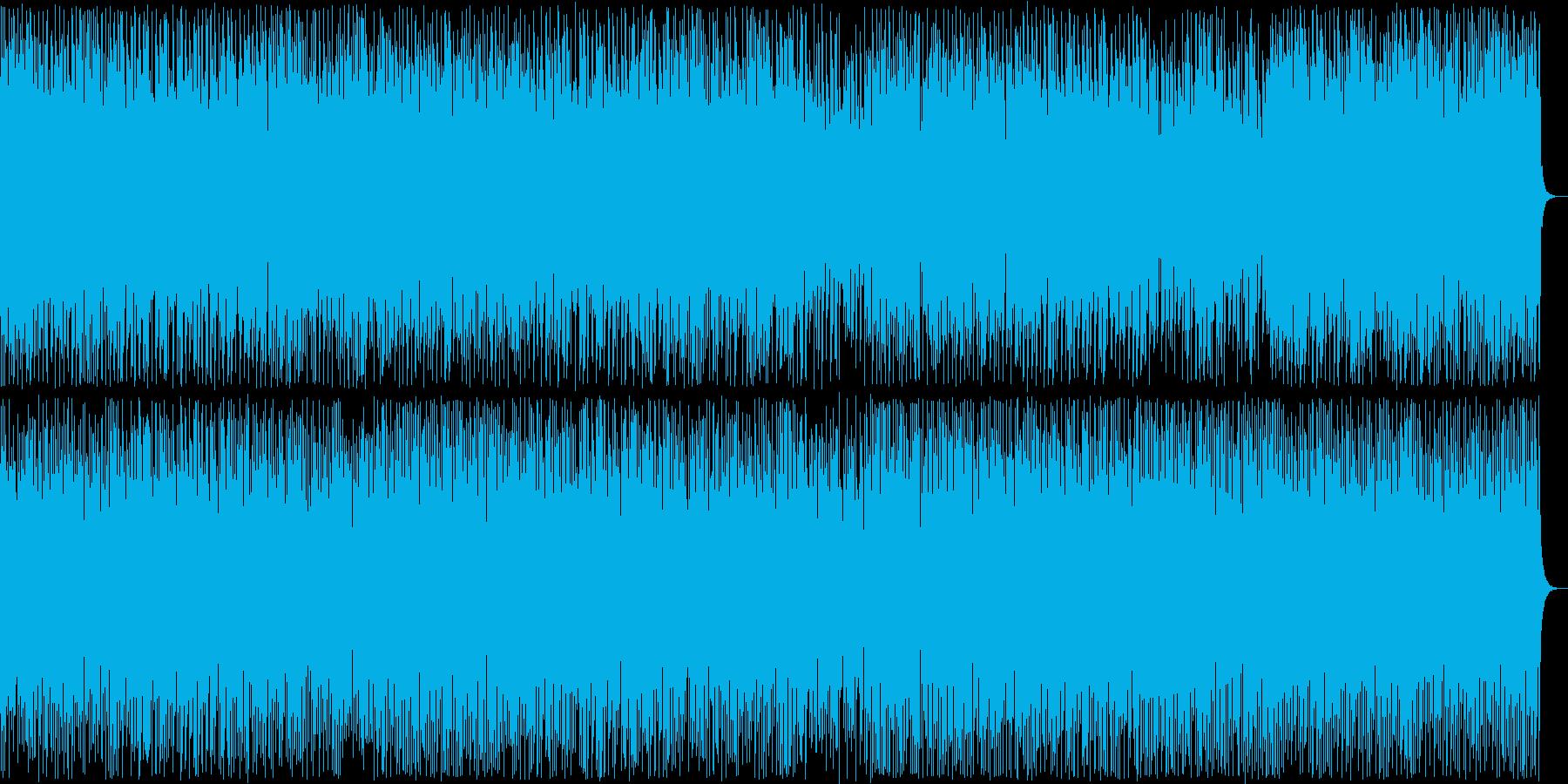 陽気なアップテンポの和風ポップの再生済みの波形