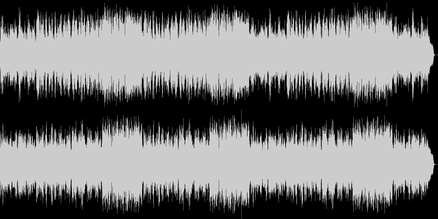ミステリードラマの主題歌の様なムード歌謡の未再生の波形