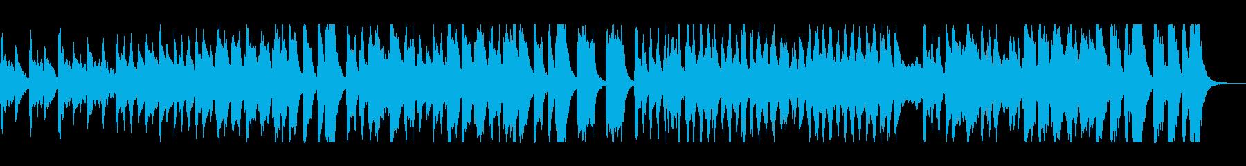 ハロウィン風ミステリアスなオーケストラの再生済みの波形