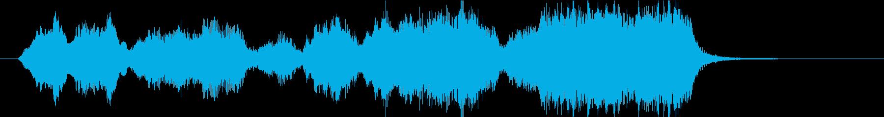 15秒CMサイズの19 弦楽アンサンブルの再生済みの波形