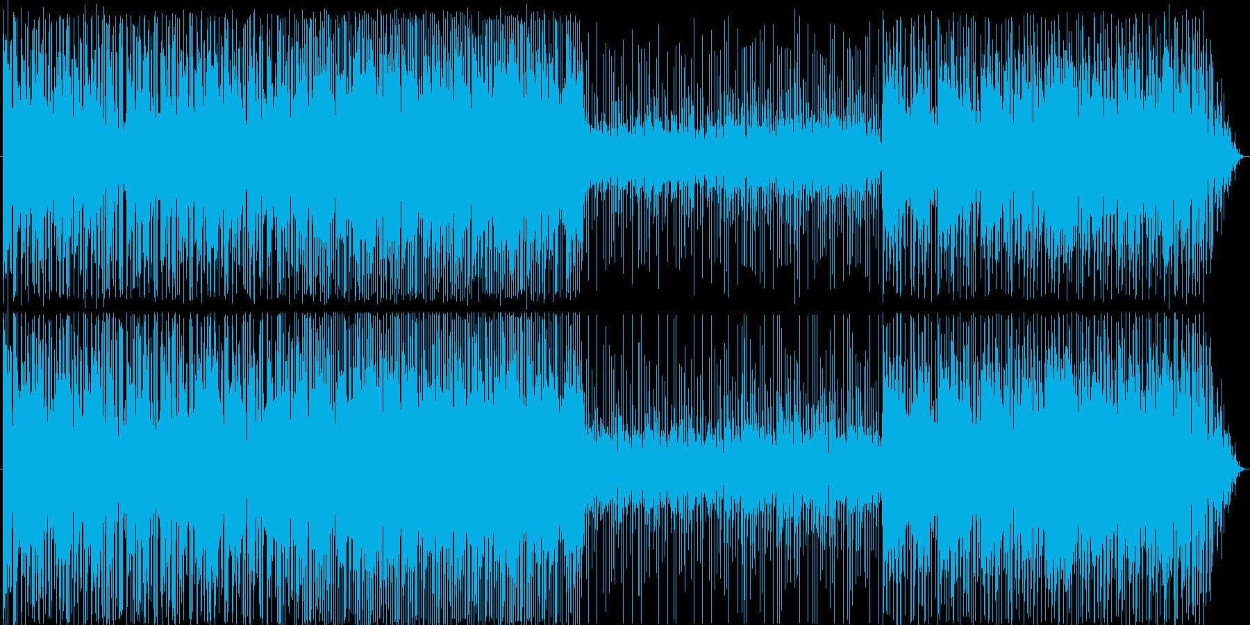 少しジャズっぽくムーディーの再生済みの波形