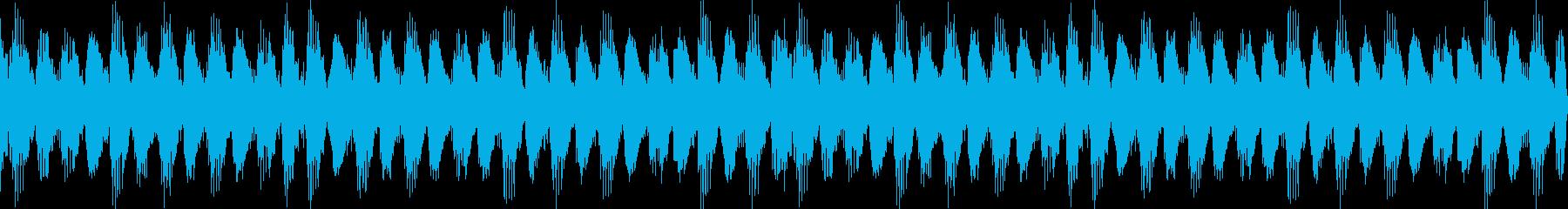 4分打ちEDM風ループ音源ですの再生済みの波形