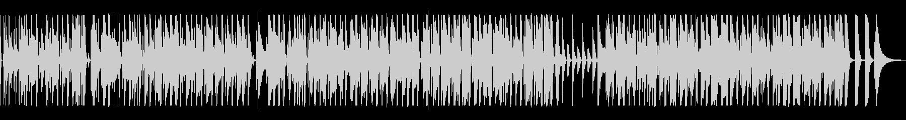 ウクレレと笛の音がほのぼのしたポップスの未再生の波形