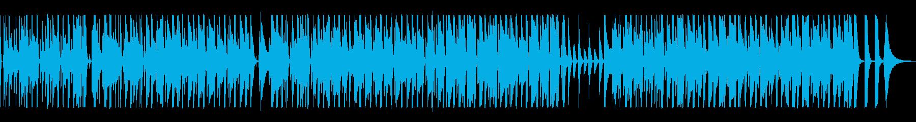 ウクレレと笛の音がほのぼのしたポップスの再生済みの波形