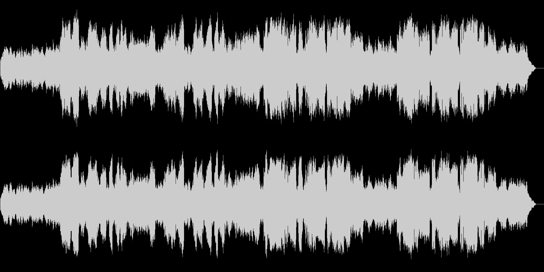 静かな場所でのBGMに向く楽曲です。鼻…の未再生の波形