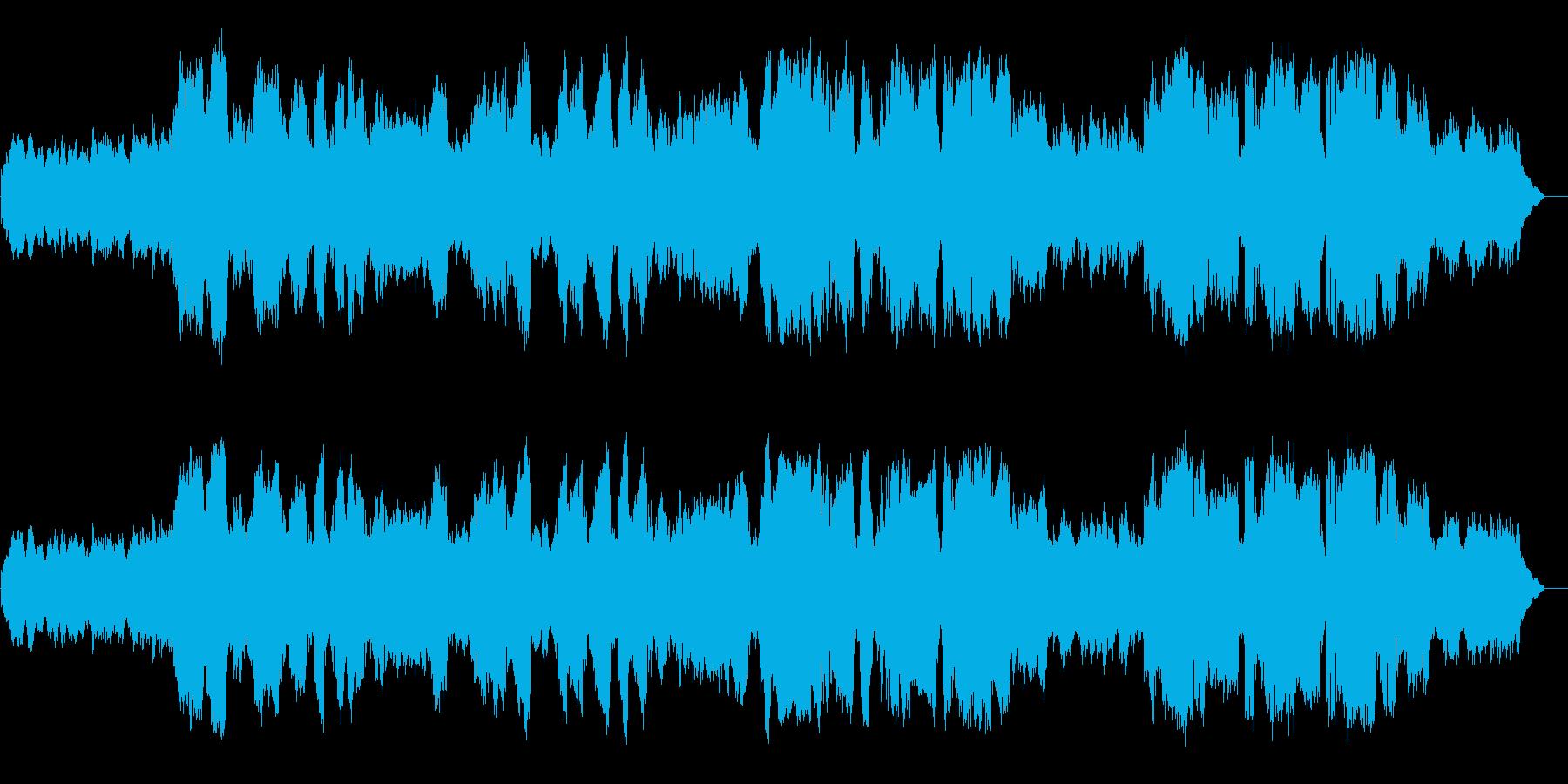静かな場所でのBGMに向く楽曲です。鼻…の再生済みの波形