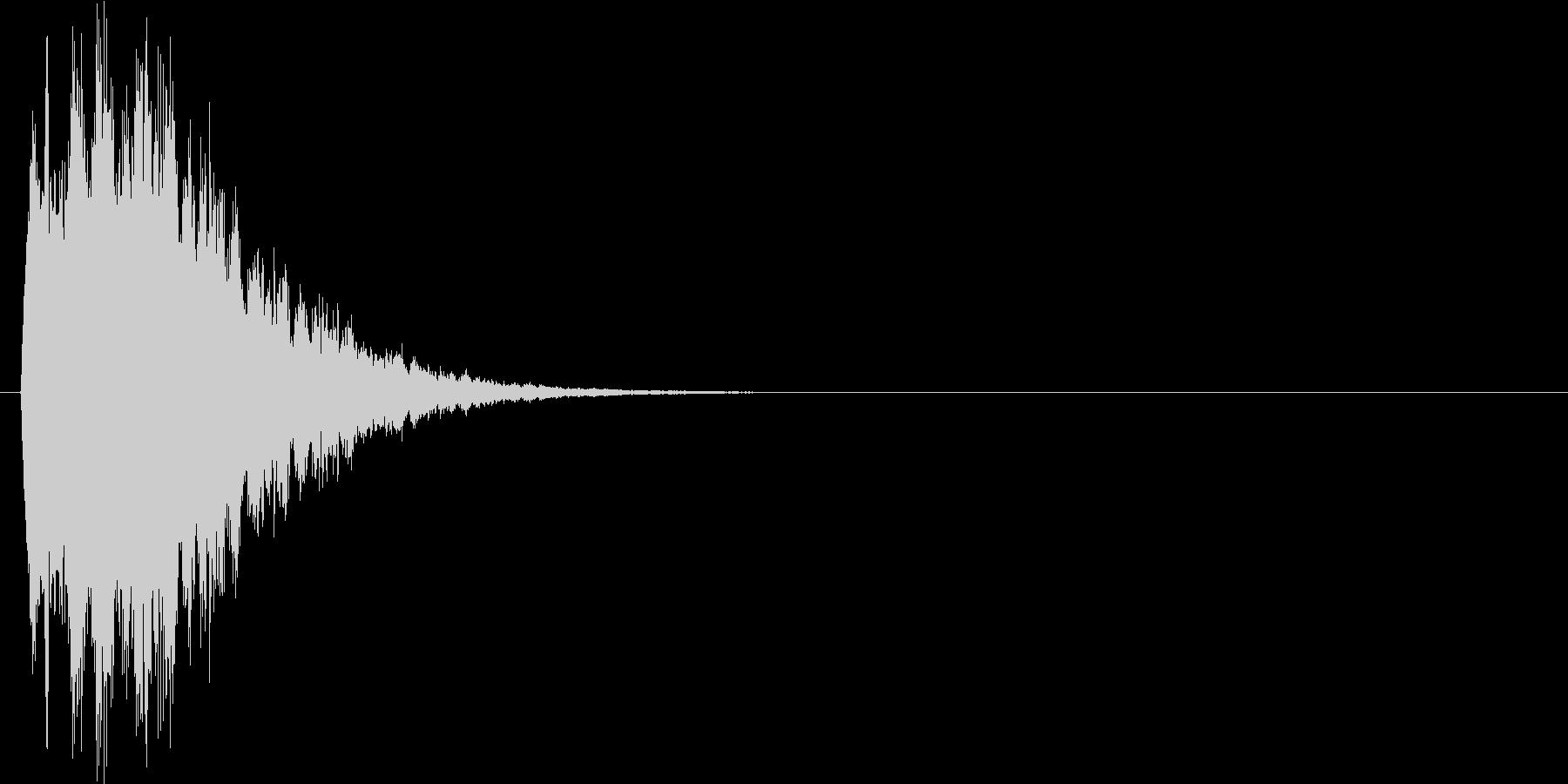 キラリン↑(星、キラキラ、決定音)の未再生の波形
