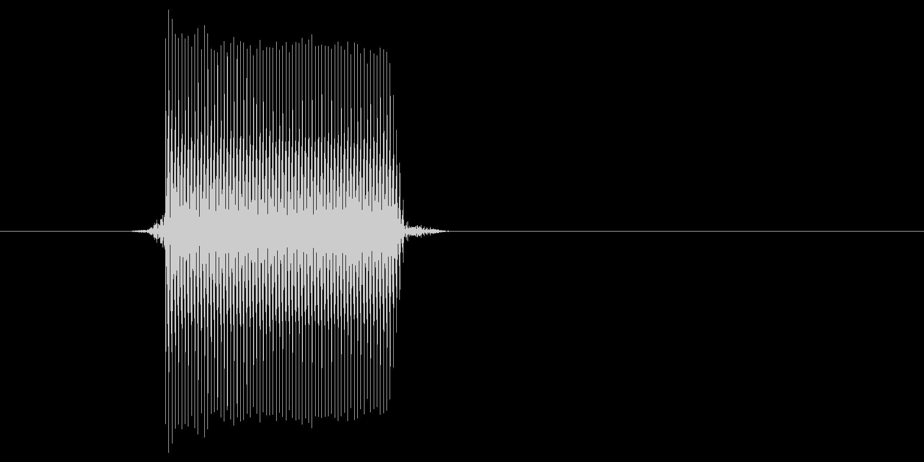 ゲーム(ファミコン風)セレクト音_016の未再生の波形