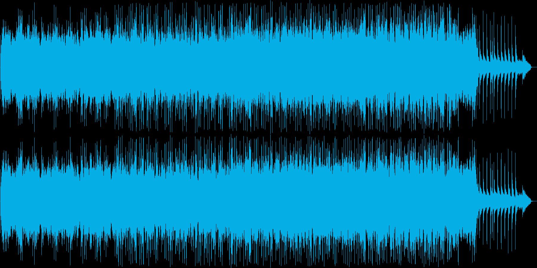 和風なシンセ・お琴サウンドの再生済みの波形