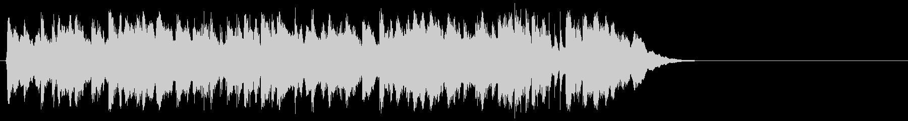 心弾む可愛らしいポップ(イントロ)の未再生の波形