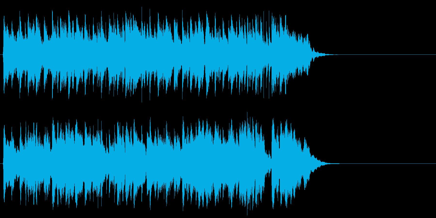 心弾む可愛らしいポップ(イントロ)の再生済みの波形