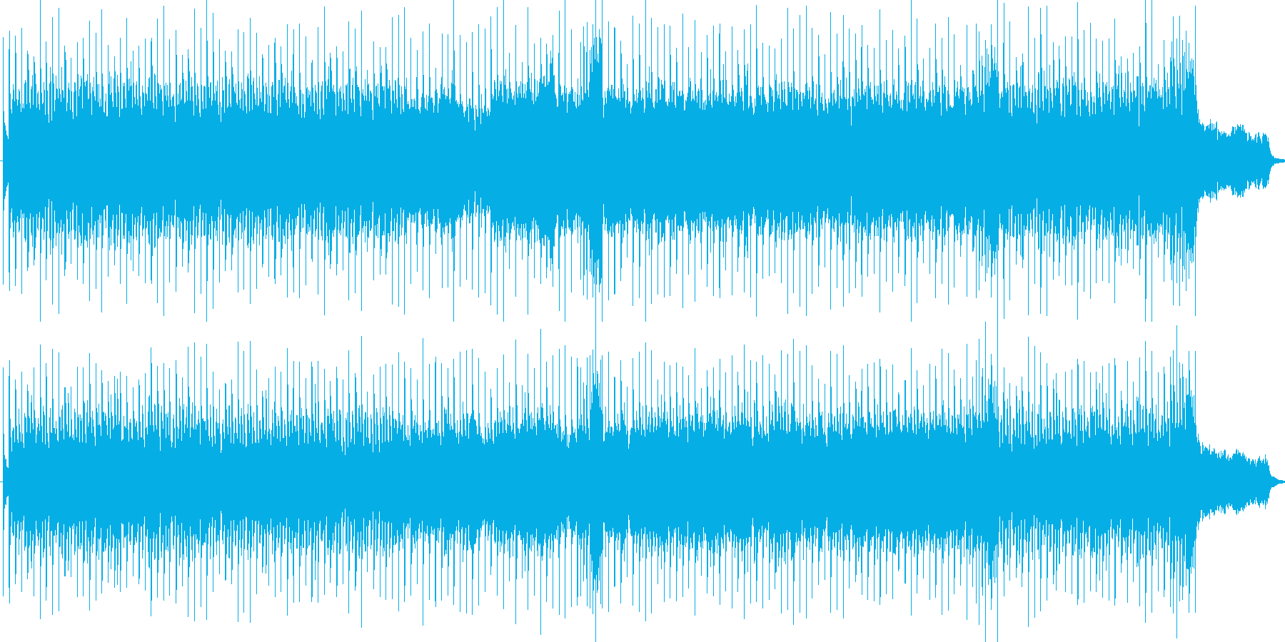 中国風電子ソングの再生済みの波形