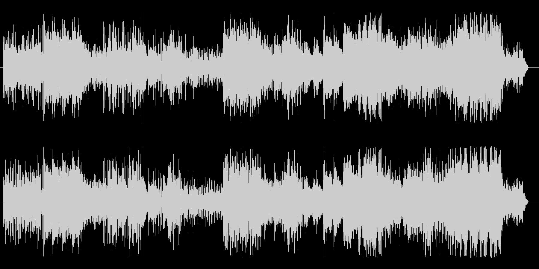 伝統的日本の和楽器の音色の未再生の波形