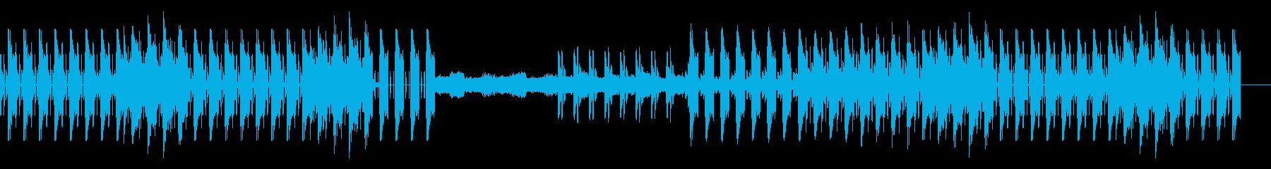 スチームパンク風、楽しい音遣いのBGMの再生済みの波形