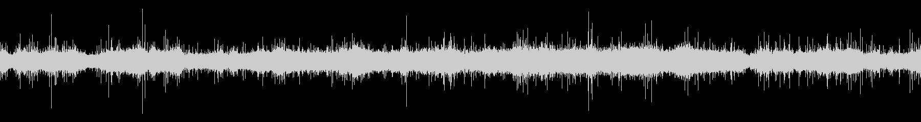 ムードノイズ「サラサラ…」1の未再生の波形