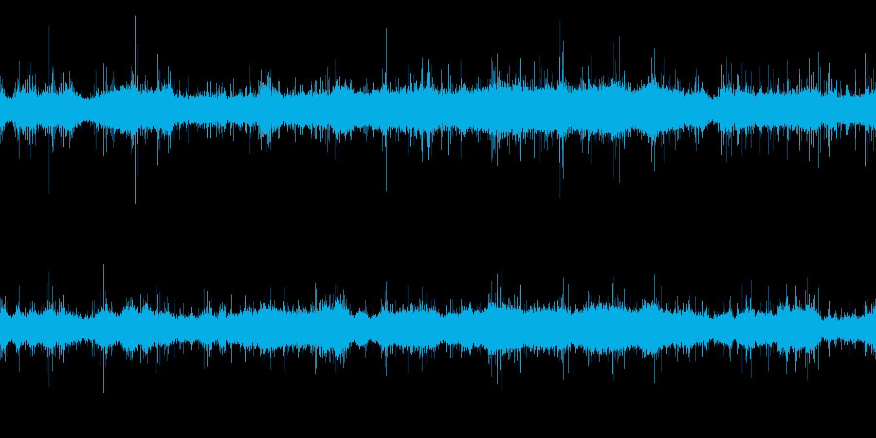 ムードノイズ「サラサラ…」1の再生済みの波形