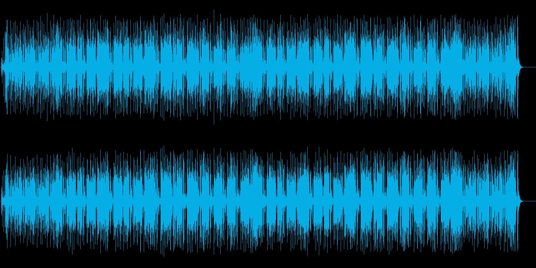 本格的シリアスタッチのレゲエの再生済みの波形