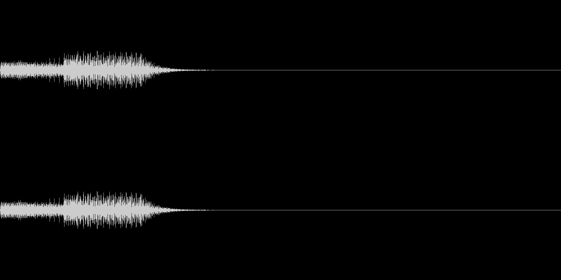 ゲーム_ポーズボタンを押すの未再生の波形