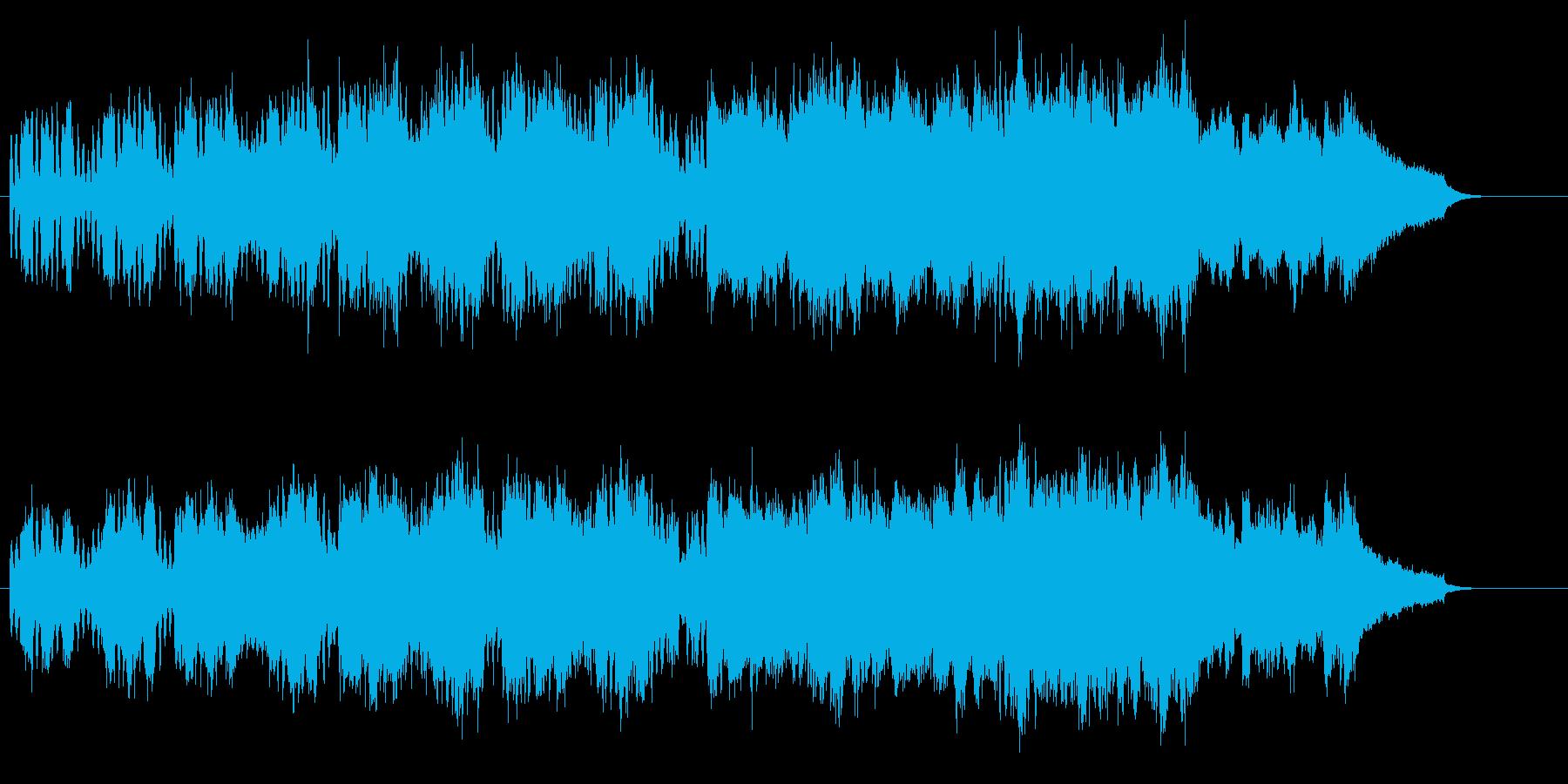 端正かつ気品のあるセミ・クラシックの再生済みの波形