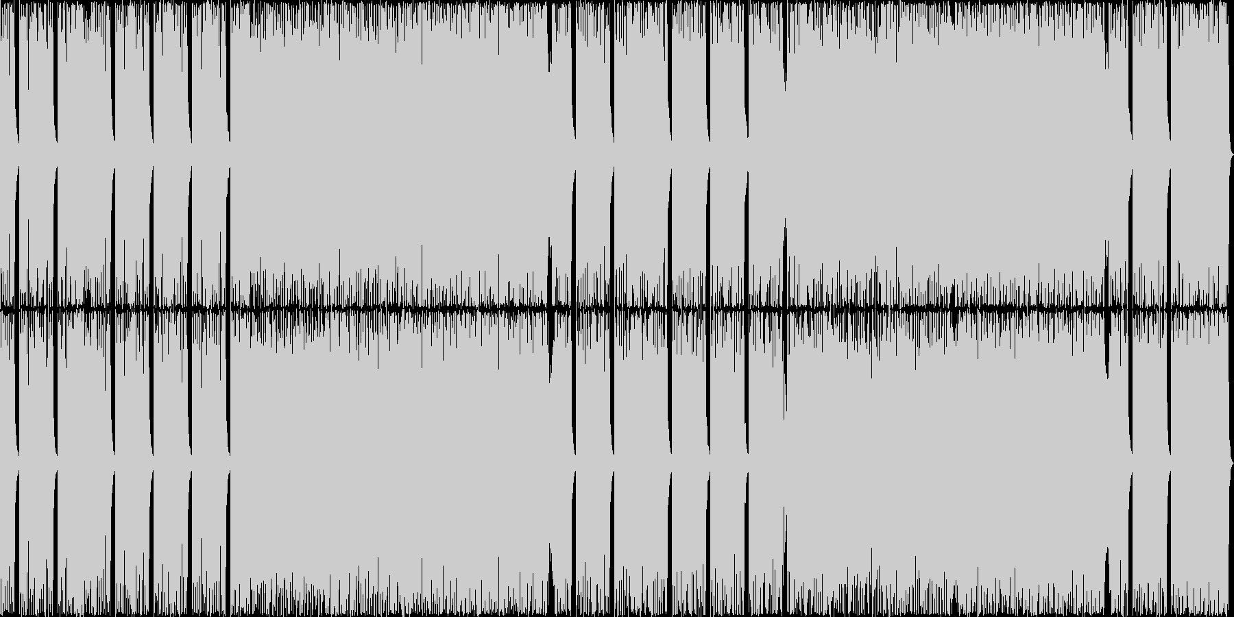 カシオペアばりの16ビートフュージョン2の未再生の波形
