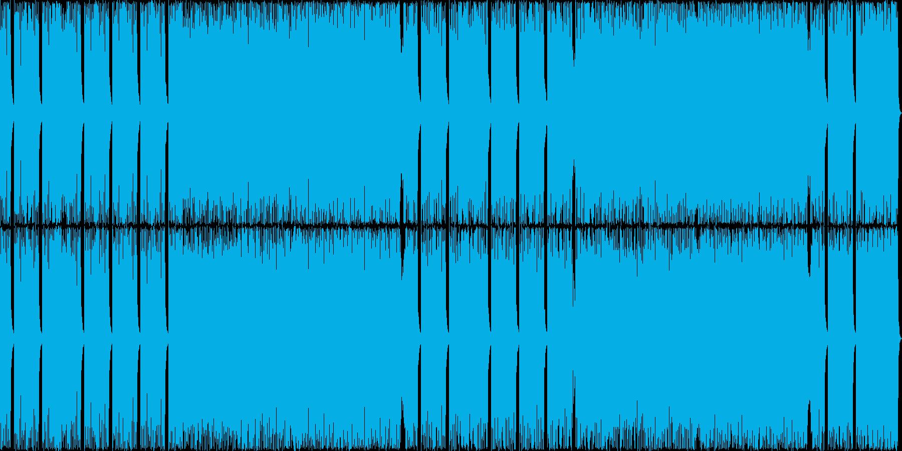カシオペアばりの16ビートフュージョン2の再生済みの波形
