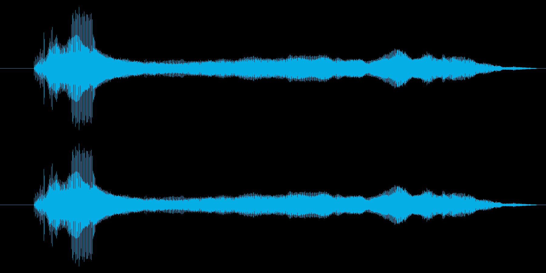 蜂の羽音 ぶーーん ブーンの再生済みの波形