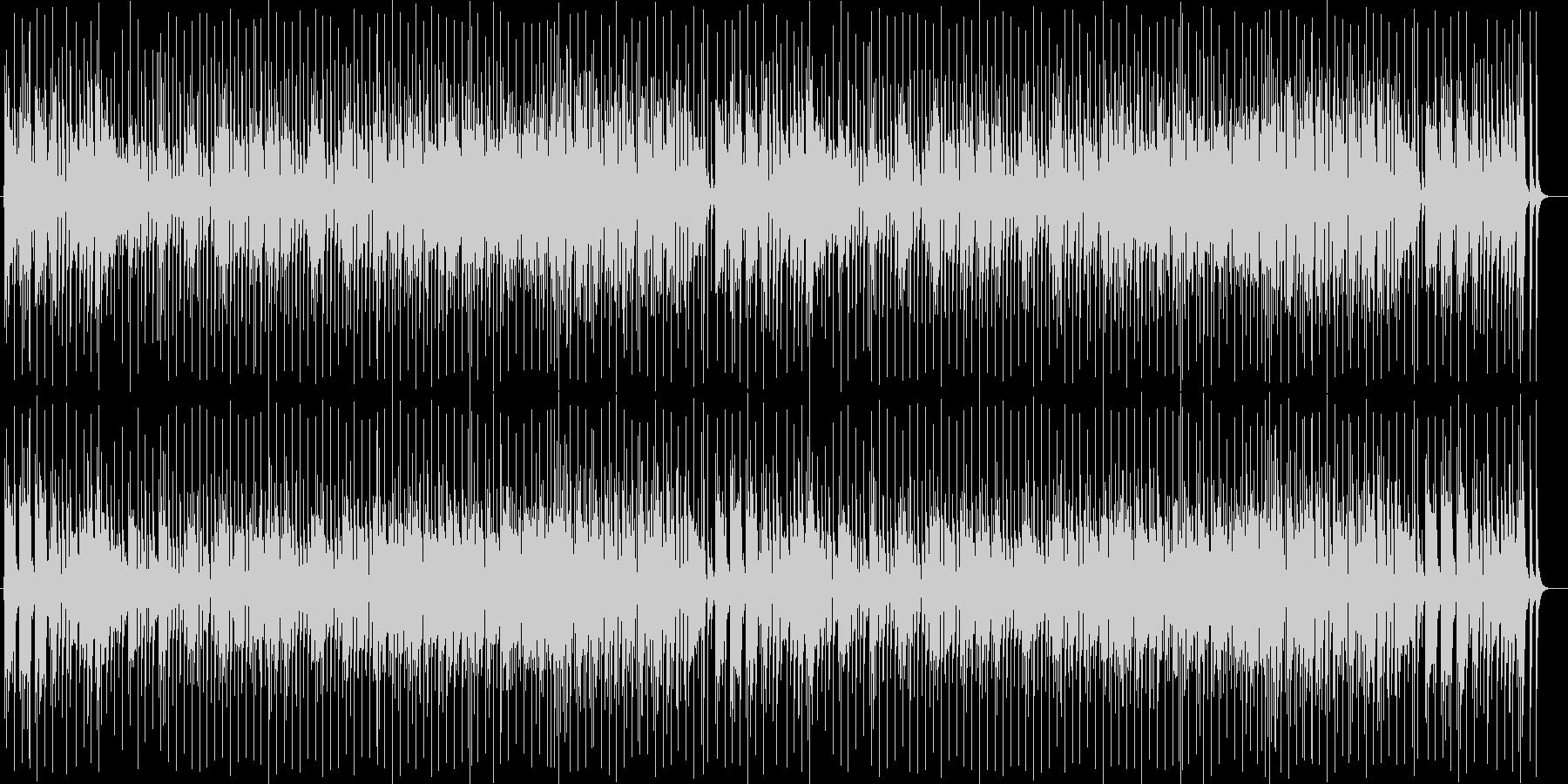 元気で弾けるブラスサウンドの未再生の波形