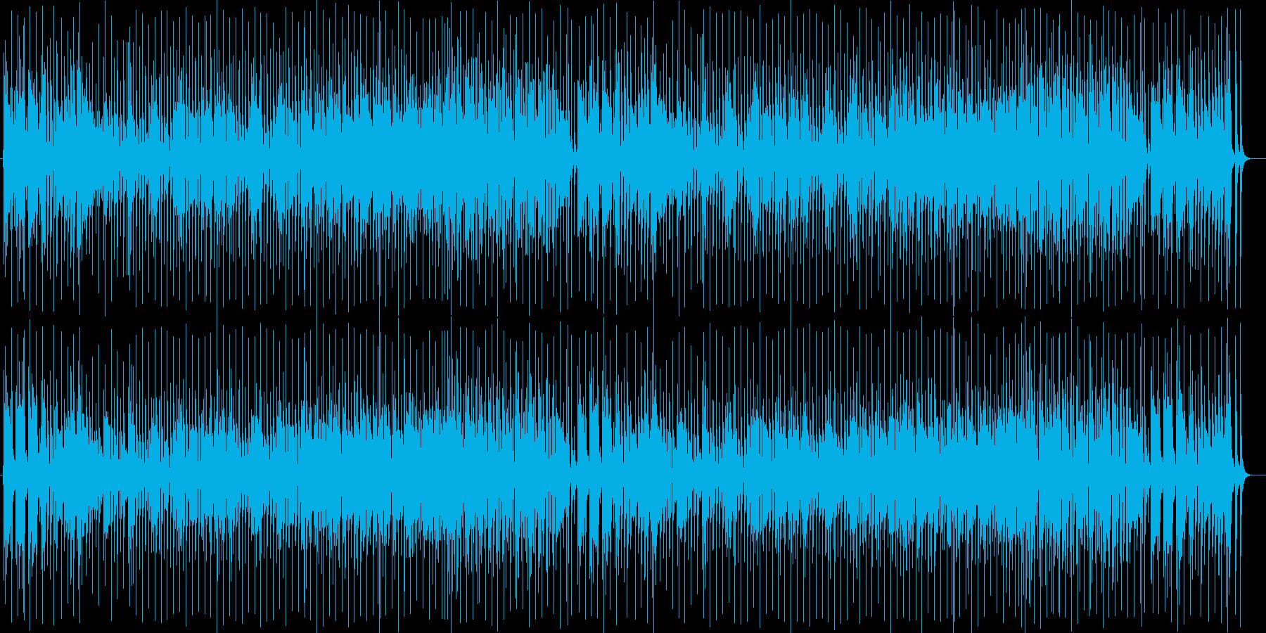 元気で弾けるブラスサウンドの再生済みの波形