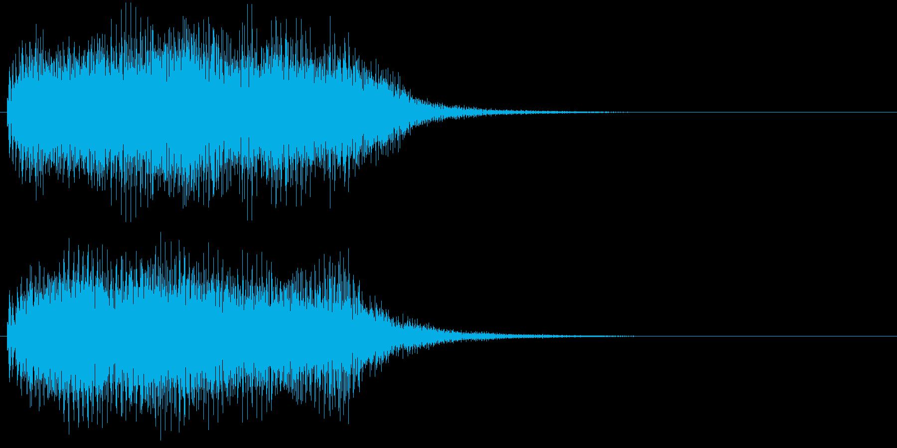 汎用01 ジャーンの再生済みの波形