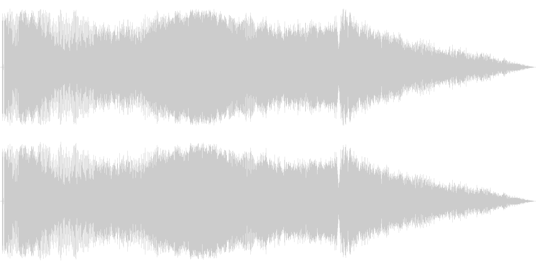 【レース07】ド迫力のエンジン効果音!の未再生の波形