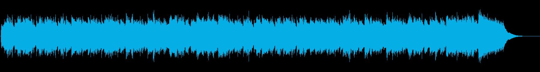 クラシック、ハープシコードの再生済みの波形